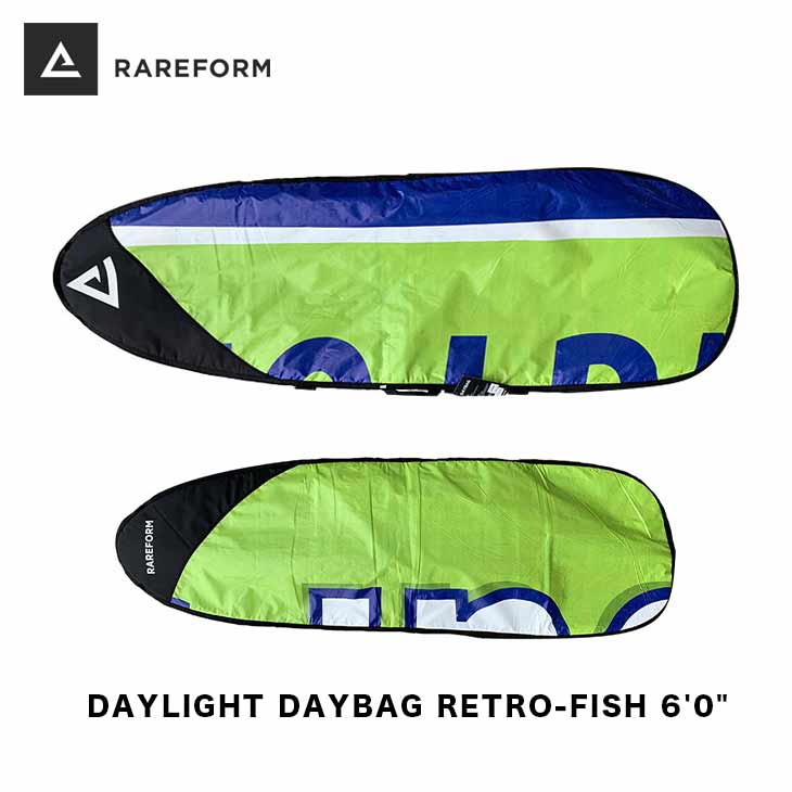 RAREFORM レアフォーム サーフボードケース DAYLIGHT DAYBAG RETRO-FISH 6'0