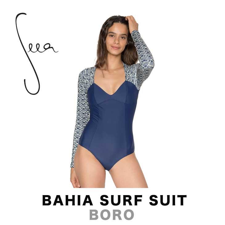 SEEA シーア BAHIA SURF SUIT - BORO レディース 水着 スイムウェア サーフスーツ