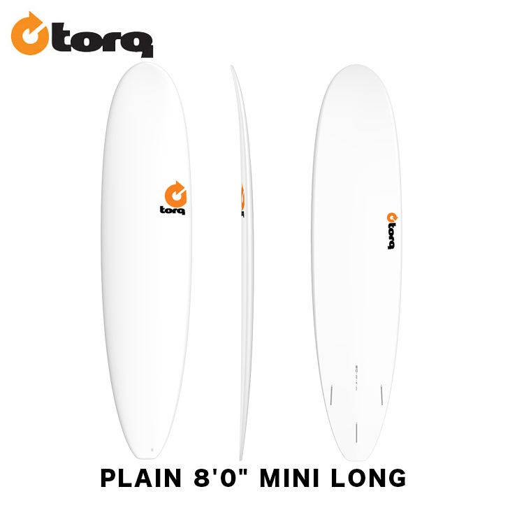 TORQ SURFBOARDS トルク サーフボード PLAIN 8'0