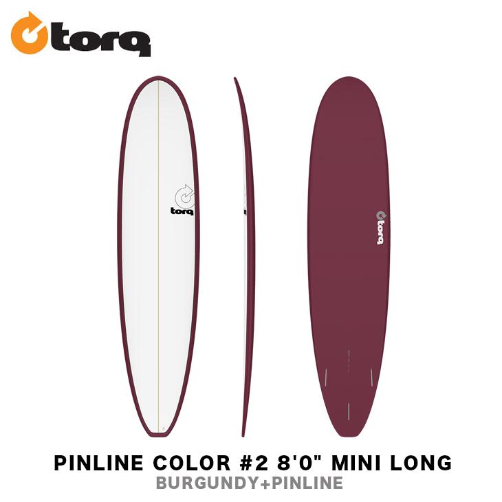 TORQ surfboards(トルクサーフボード)『TET PINLINE 8'0 MINI LONG』