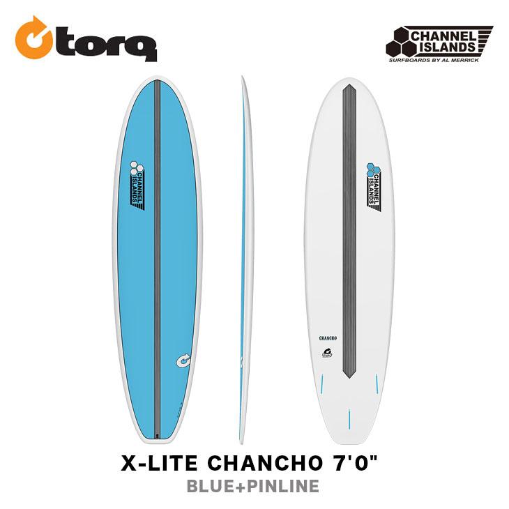 "TORQ SURFBOARDS トルク サーフボード X-LITE CHANCHO 7'0"" CHANNEL ISLANDS チャンネルアイランド ファンボード エポキシボード EPS サーフィン"