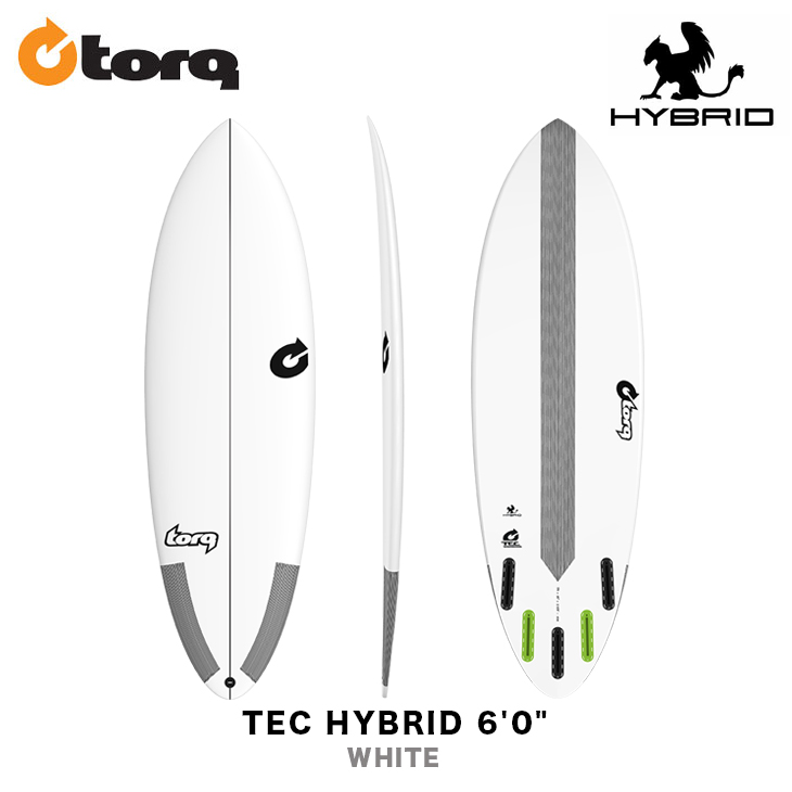TORQ SURFBOARDS トルク サーフボード TEC HYBRID 6'0
