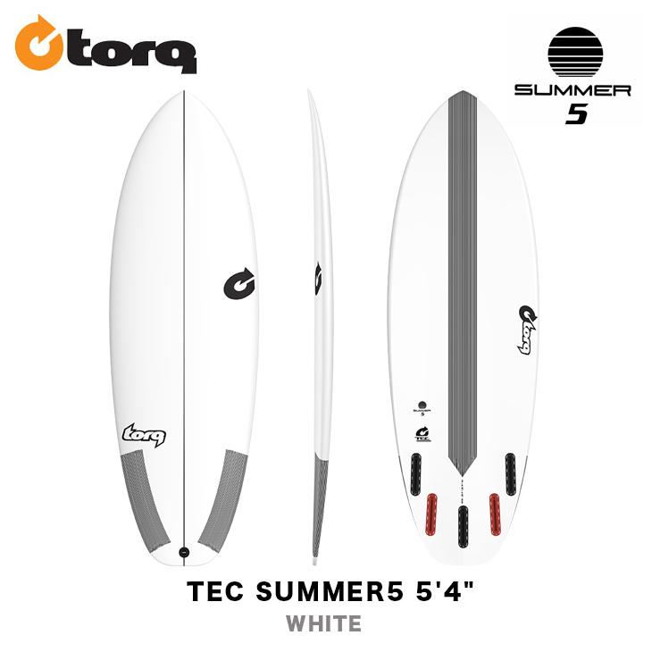 TORQ SURFBOARDS トルク サーフボード TEC SUMMER5 5'4