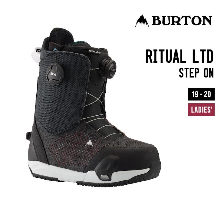 BURTON バートン 世界の人気ブランド ブーツ 19-20 RITUAL LTD 販売 STEP リチュアル SNOWBOARD リミテッド ステップオン スノーボード ON