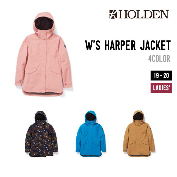 HOLDEN ホールデン ウェア 19-20 W'S HARPER JACKET ウィメンズ ハーパー ジャケット スノーボードウェア