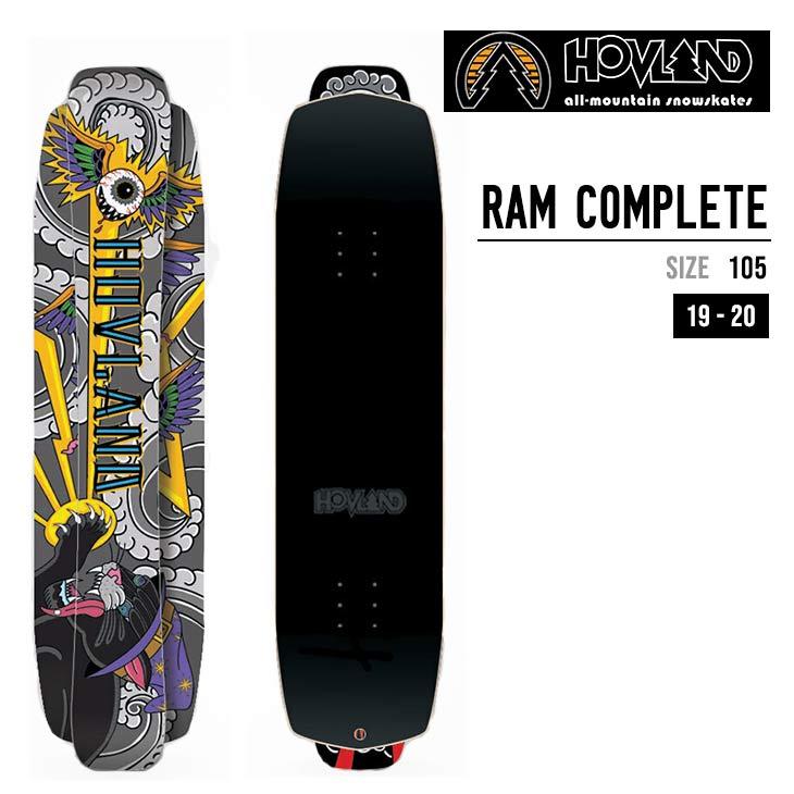 HOVLAND SNOWSKATES ホブランド スノースケート 19-20 RAM COMPLETE ラム コンプリート 105cm