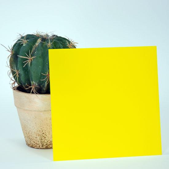 アクリル黄色3×1100×1300mm