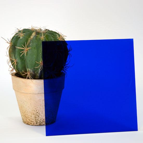 アクリルブルー透明 3×650×1100