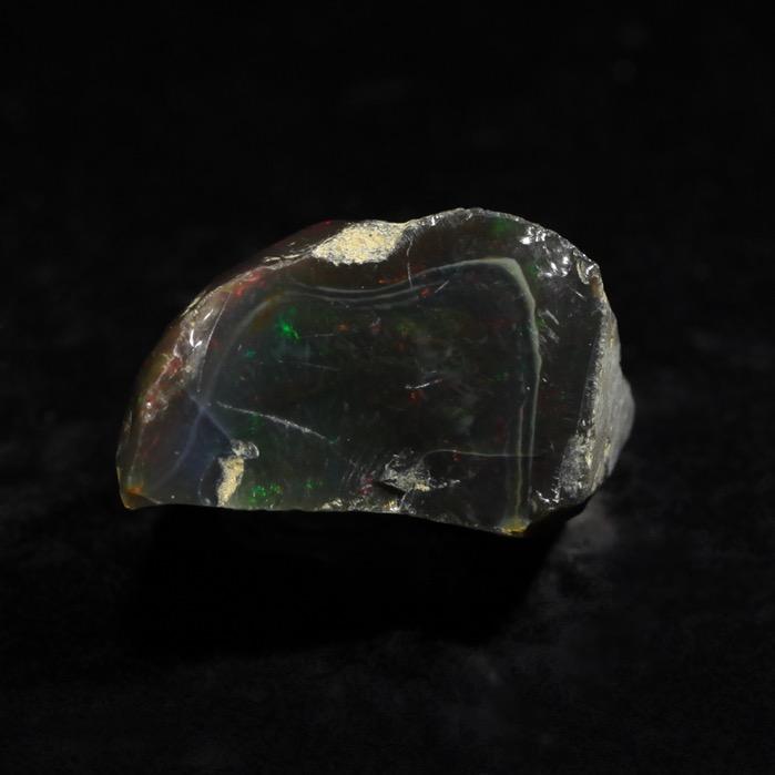 【再入荷!】エチオピア ウェロー産 ブラックプレシャスオパール原石【送料無料】