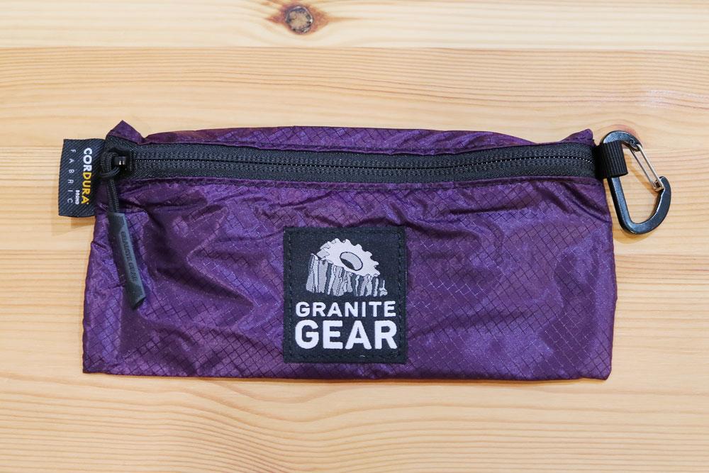 GRANITE GEAR - TRAIL WALLET L [グラナイトギア トレイルワレット ハイカーウォレット アウトドア 登山用財布 コイン・カードケース]