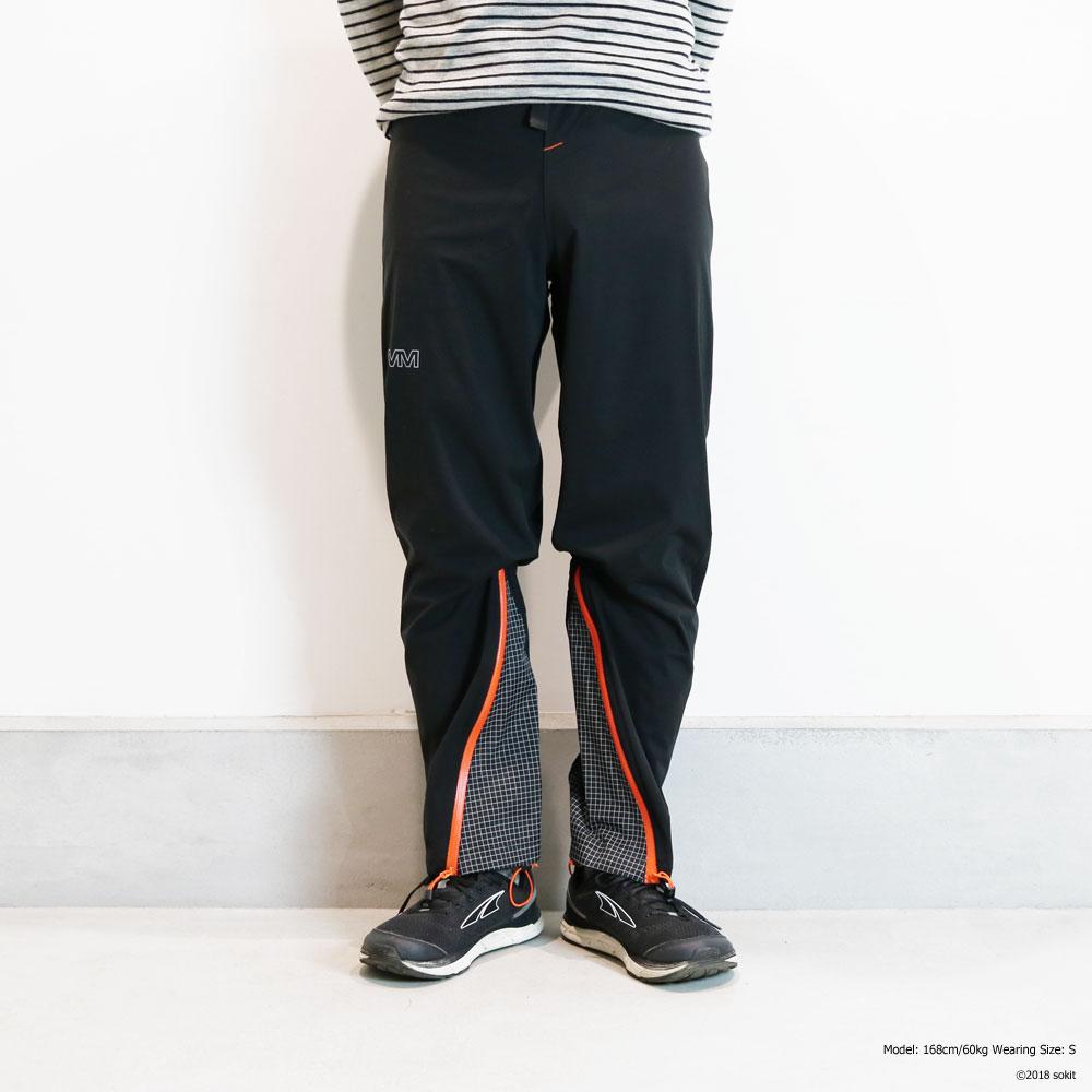 OMM - Kamleika Pant ブラック [The Original Mountain Marathon オーエムエム カムレイカ レースパンツ レインパンツ black]
