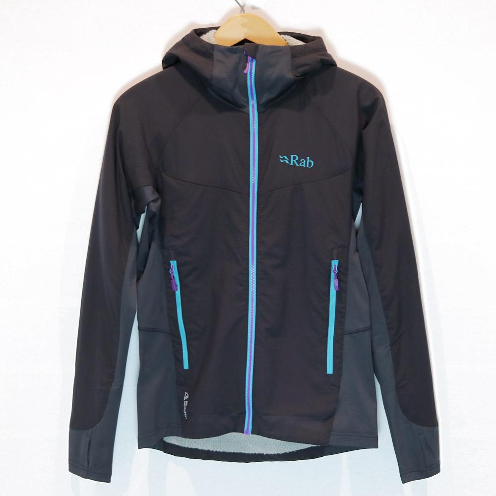 Rab - W's Alpha Flux Jacket [ ラブ レディース アルファ フラックス ジャケット ミッドレイヤー ソフトシェル Women's ]