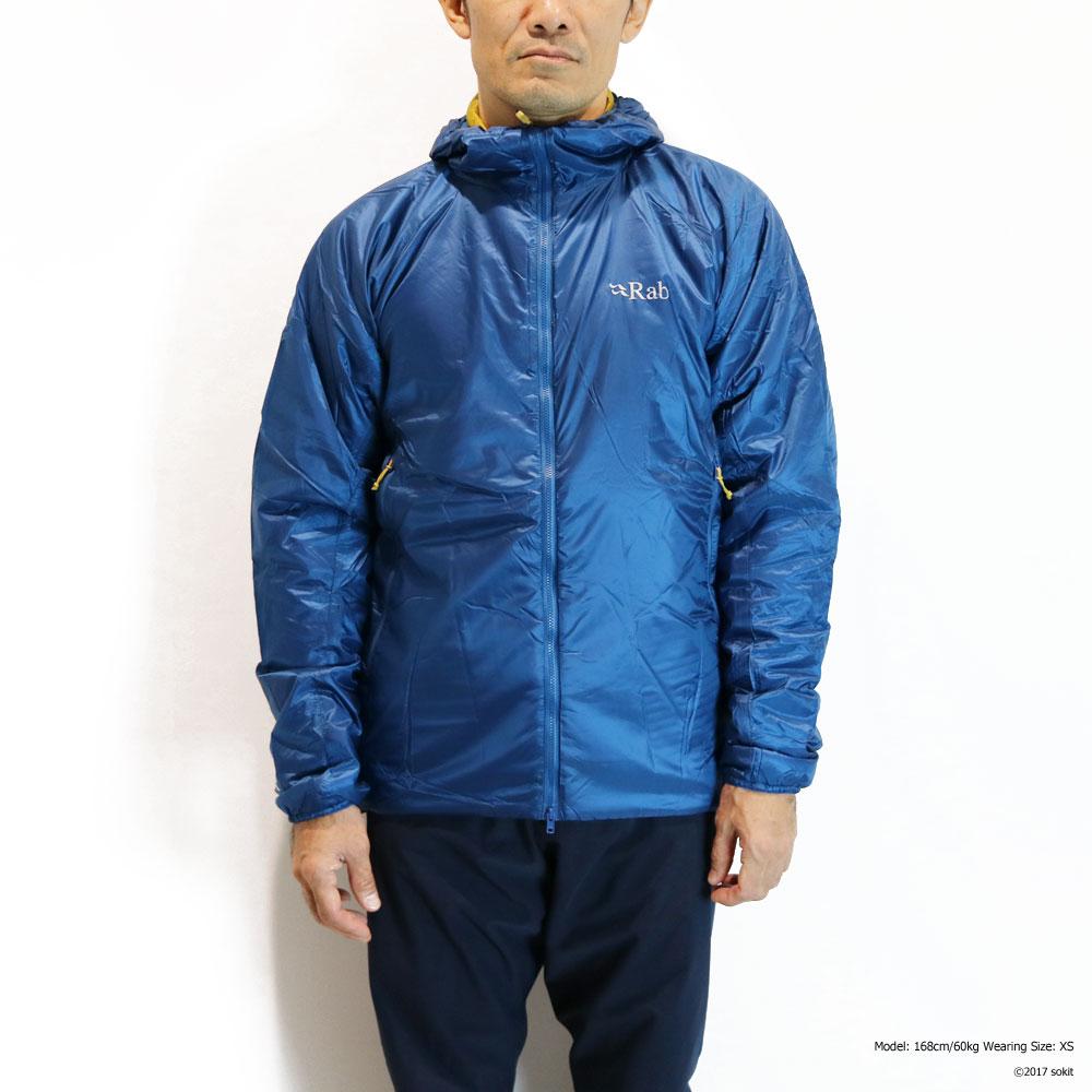 Rab - Xenon X Jacket インク [ラブ メンズ ゼノン キセノン X ジャケット 中綿]