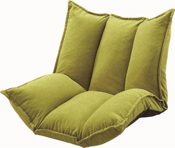 送料無料 シングルマルチソファ LSS-27GR/170005 ローソファ 1人掛け座椅子 ソファー sofa LSS-27GR