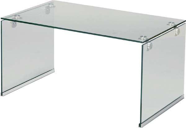 送料無料 ガラステーブルS PT-28CL/109722