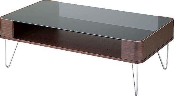 送料無料 ルーマス コーヒーテーブルL PT-582BR/113583