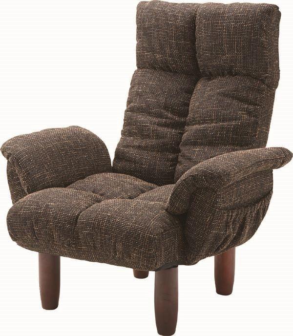 送料無料 脚付パーソナルチェア RKC-39BR/169962 パーソナルチェア 座椅子 いす イス チェア チェアー 北欧テイスト モダン ナチュラル シンプル アンティーク