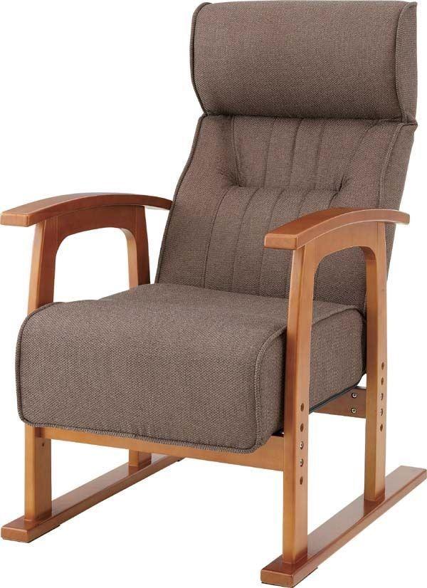 送料無料 クレムリン キング高座椅子 THC-106BR/144846