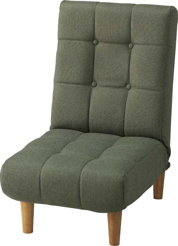 送料無料 ジョイン フロアソファ THC-107GR/150861 ソファー sofa 1人掛けソファ ハイバックソファー 座椅子 リクライニング sofa