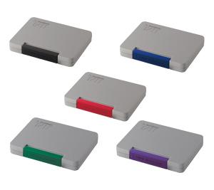 なつ印の可能性を大きく広げるシヤチハタのTAT タートスタンプシリーズ はんこやドットコム シャチハタ 強着スタンプ台 タート おすすめ 多目的用 中形 ATGN-2 全5色 黒 赤 藍色 緑 紫 メール便配送対応商品 スタンプ サイズ表示 産業用 検印などに しやちはた 誕生日プレゼント 工業用 シヤチハタ Shachihata スタンプパッド 判子 はんこ 製品ロット表示 ハンコ 品番表示