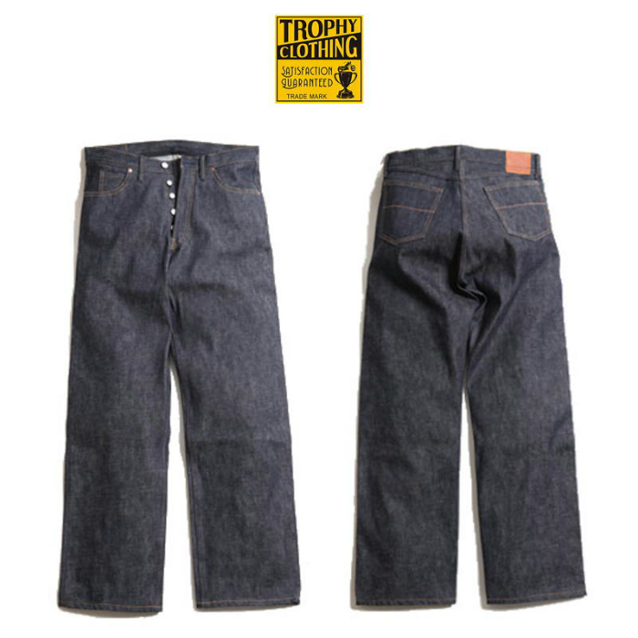 【TROPHY CLOTHING/トロフィークロージング】1505 Standard Authentic Denim