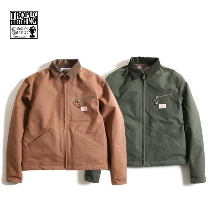 TROPHY CLOTHING【トロフィークロージング】 Grease Monkey Jacket ジャケット