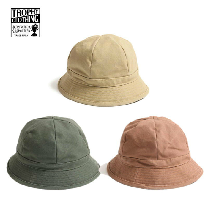 TROPHY CLOTHING【トロフィークロージング】 Oiled Duck Timber Hat ハット