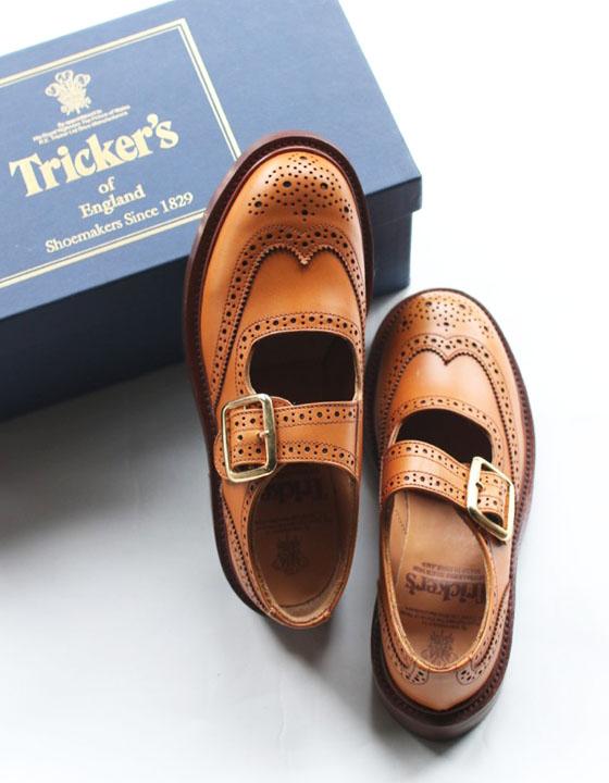 【送料無料】Tricker's(トリッカーズ)ウィングチップレザーシューズ