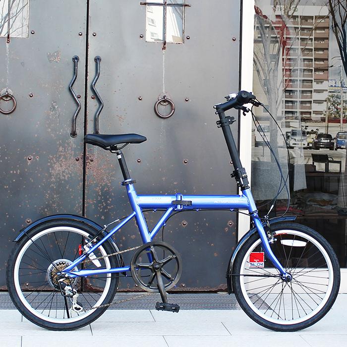 折りたたみ 自転車 ノーパンクタイヤ 20インチ FIELD CHAMP シマノ製 6段変速 20インチ 折りたたみ自転車  X0111