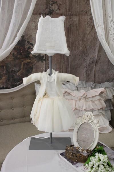 アンティークなランプ BORGO DELLE TOVAGLIE(ボルゴ デレ トヴァーリ) 卓上ランプ・ドレス LED対応 輸入品 シャビーシック アンティーク風 フレンチカントリー スタンドランプ 可愛い