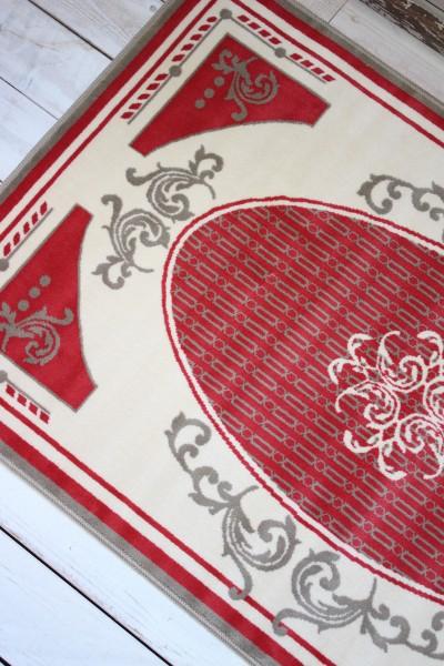 フランス ラグマット SERGE LESAGE (セルジュ ルサージュ)社 ALIXE(ROUGE) 140×200 フランス製 カーペット 絨毯 スタイルフランス 綿100%