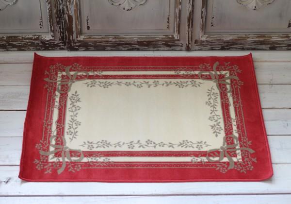 France Ragmat Serge Lesage Inc Floor Mats Satine Rouge 50 70 Made Door Mat Style Cotton 100