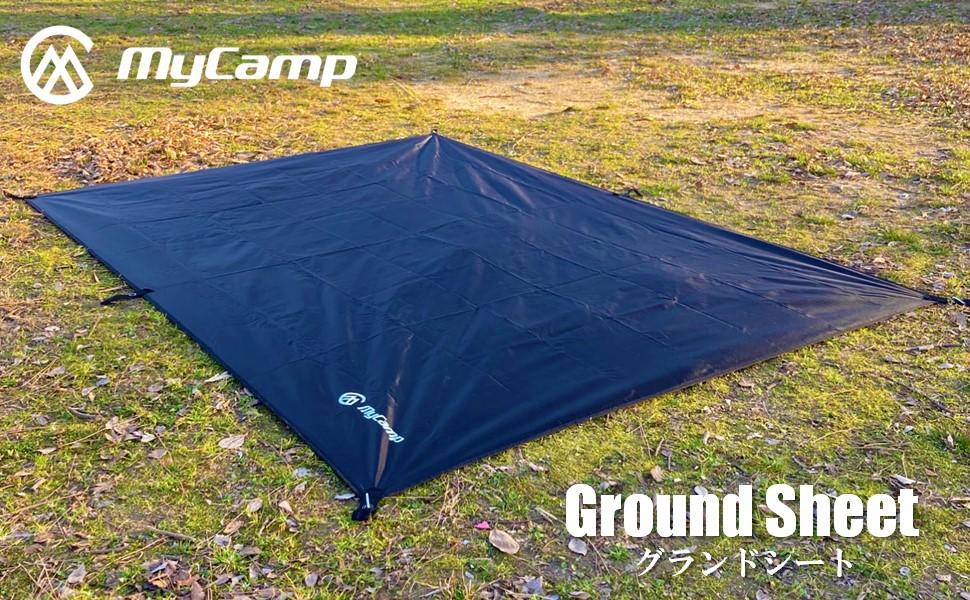 1位獲得 MyCamp 250×210cm グランドシート テントシート 通信販売 タープ 防水 新発売 軽量 登山 テント レジャーシート 安心の1年保証 キャンプ