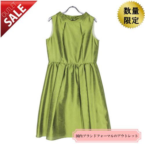 【66%OFF!】パーティードレス結婚式二次会用ドレス|キュートな2WAYシャンタンドレス13号(オリーブ)