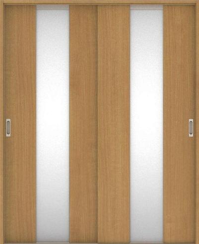店舗受け取り限定 ハピアベイシス 引戸・引違 G5デザイン扉セット  ティーブラウン 大建工業の建具