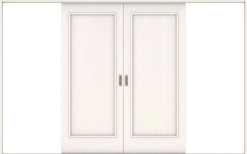 ハピアベイシス 引戸・引分 01デザイン扉セット  3255幅 ネオホワイト 大建工業の建具