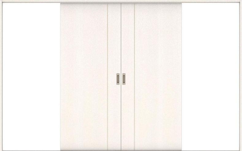 ハピアベイシス 引戸・引分 D3デザイン扉セット  3255幅 ネオホワイト 大建工業の建具