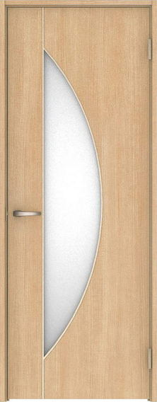 ハピア 片開きドア D5デザイン扉セット 2000高 ミルベージュ 鍵なし 大建工業の建具