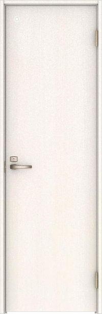 ハピアベイシス トイレドア 00デザイン扉セット 2000高 錠付 ネオホワイト 大建工業の建具