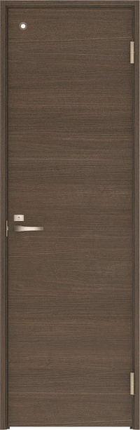ハピアベイシス トイレドア U0デザイン扉セット 2000高 錠付 ダルブラウン 大建工業の建具