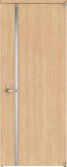ハピアベイシス アウトセット開き戸 G9デザイン扉 2000高 835幅 錠付 ミルベージュ 大建工業の建具