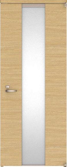ハピアベイシス アウトセット開き戸 Y5デザイン扉 2000高 835幅 錠付 ライトオーカー 大建工業の建具