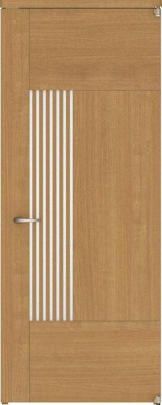 ハピアベイシス アウトセット開き戸 G8デザイン扉 2000高 835幅 錠付対応 ネオホワイト 大建工業の建具