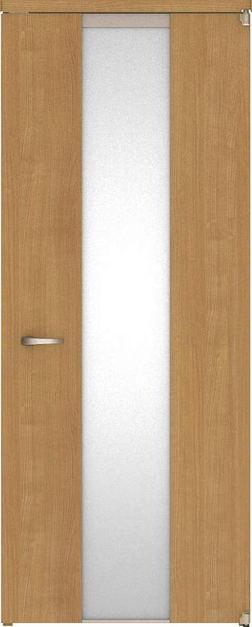 ハピアベイシス アウトセット開き戸 G5デザイン扉 2000高 835幅 錠なし ティーブラウン 大建工業の建具