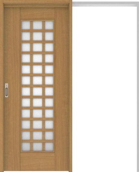 ハピアベイシス 吊戸・引込 79デザイン扉セット 2000高 1645幅 ティーブラウン 大建工業の建具