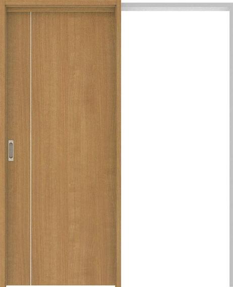 ハピアベイシス 吊戸・引込 D3デザイン扉セット 2000高 1645幅 ティーブラウン 大建工業の建具