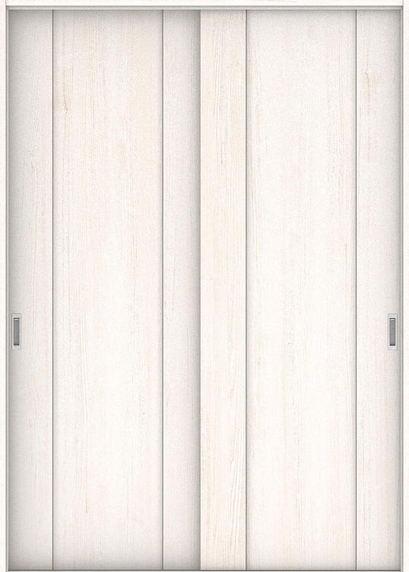 店舗受け取り限定 ハピアプレミア 引戸・引違 1Pデザイン扉セット  1745幅 アッシュ柄(ネオホワイト) 大建工業の建具