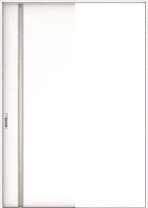 ハピアプレミア 引戸・片引 2Cデザイン扉セット  錠付・明かり窓なし モノホワイト 大建工業の建具