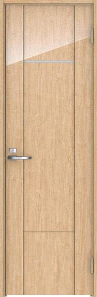 店舗受け取り限定 ハピア トイレドア 8Pデザイン扉セット 2000高 錠付 メープル柄(ミルベージュ) 大建工業の建具