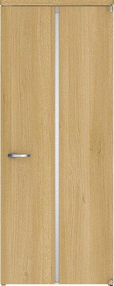ハピアベイシス アウトセット開き戸 D3デザイン扉 2000高 835幅 錠付対応 ミルベージュ 大建工業の建具